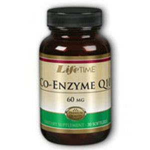 Co-Enzyme Q10 Twinpacks 30 softgels by Life Time Nutritional Specialties (2587333984341)