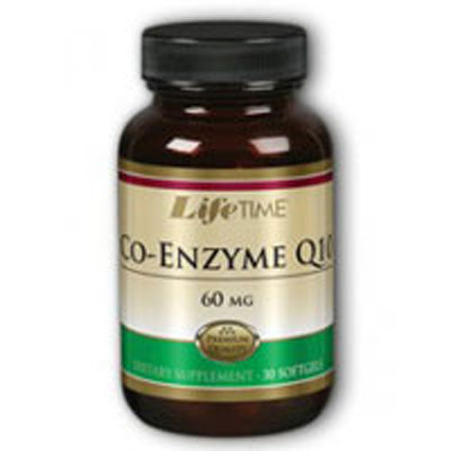 Co-Enzyme Q10 Twinpacks 30 softgels by Life Time Nutritional Specialties,