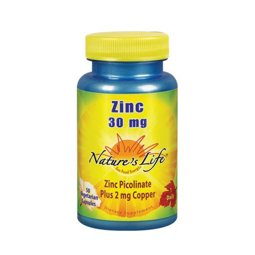 Zinc Picolinate 50 caps by Nature's Life