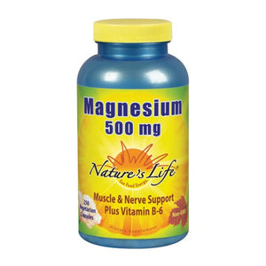 Magnesium 250 caps by Nature's Life (2587334738005)