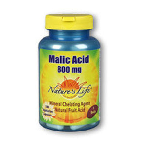 Malic Acid 100 vcaps by Nature's Life (2587335163989)