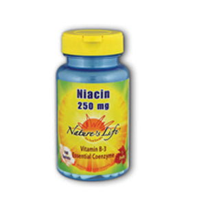 Niacin 100 tabs by Nature's Life (2587336802389)
