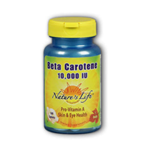 Beta Carotene 100 softgels by Nature's Life (2587339128917)