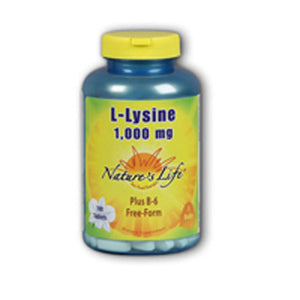 L-Lysine 100 tabs by Nature's Life (2587339194453)