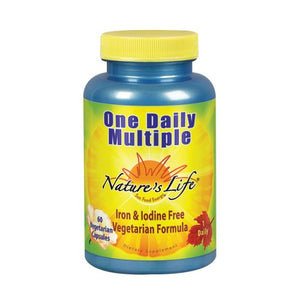 One Daily Multiple 60 vcaps by Nature's Life (2587340832853)