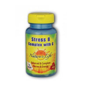 Stress B with C 50 Capsules by Nature's Life