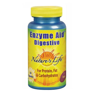 Enzyme Aid Digestive 50 Capsules by Nature's Life