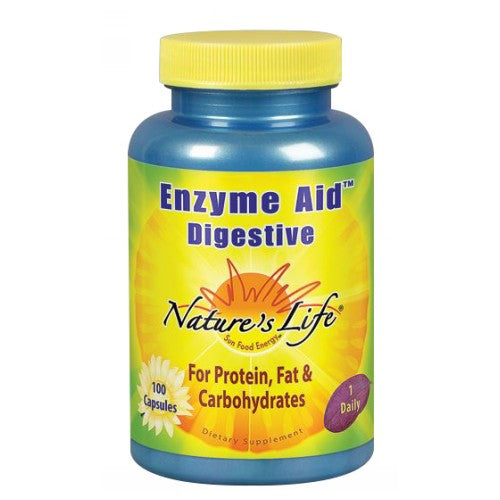Enzyme Aid Digestive 100 caps by Nature's Life