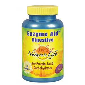 Enzyme Aid Digestive 100 caps by Nature's Life (2587341914197)