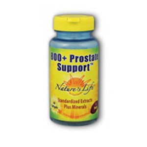 Prostate Support 800+ 60 softgels by Nature's Life