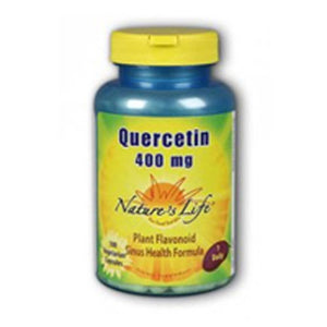 Quercetin 100 Veg Capsules by Nature's Life