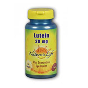 Lutein 60 softgels by Nature's Life