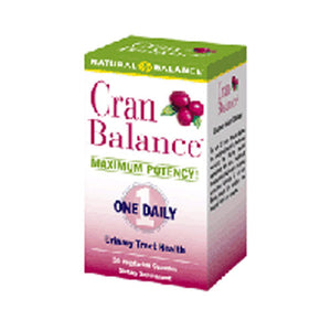 Cran Balance One Daily 30 Veg Capsules by Natural Balance (Formerly known as Trimedica)