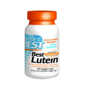 Lutein 120 Veg Capsules by Doctors Best