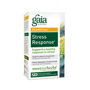 Stress Response 30 caps by Gaia Herbs (2587358593109)