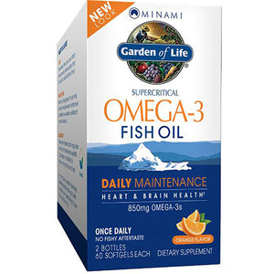 Minami Omega-3 Orange Flavor, Family Pack 1 kit by Minami Nutrition