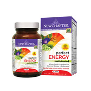 Perfect Energy Multivitamin 72 tabs by New Chapter
