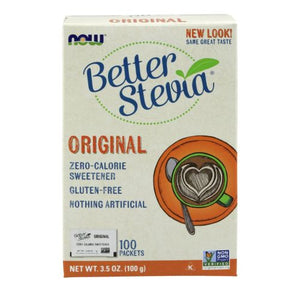 BetterStevia Packets 1000 packets by Now Foods (2587365048405)