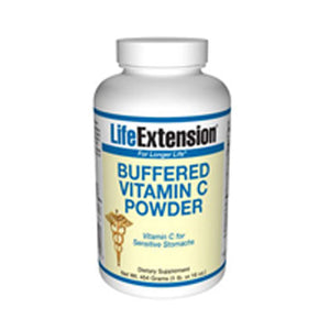 Buffered Vitamin C Powder 454.6 gms by Life Extension (2587366948949)