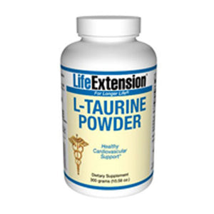 L-Taurine Powder 300 grams by Life Extension (2587367276629)