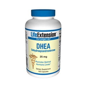 DHEA 100 caps by Life Extension (2587368194133)