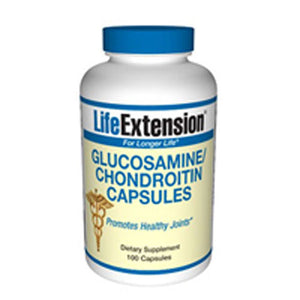 Glucosamine/Chondroitin 100 caps by Life Extension (2587369996373)