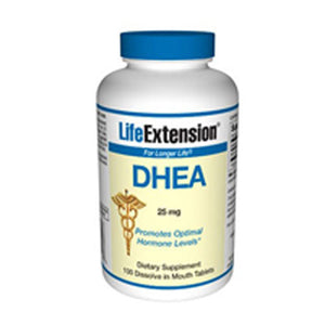 DHEA 100 dissolve tabs by Life Extension