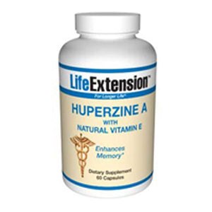 Huperzine A 60 caps by Life Extension (2587370192981)