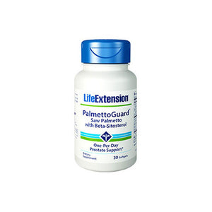 Super Saw Palmetto Beta-Sitosterol 30 softgels by Life Extension (2587373928533)