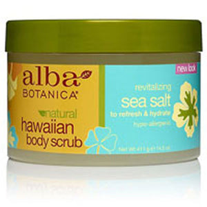 Hawaiian Sea Salt Body Scrub 14.5 oz by Alba Botanica (2588858548309)