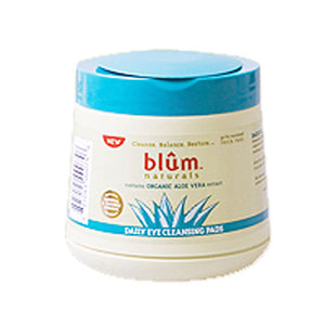Daily Eye Cleansing Pads 50 ct by Blum Naturals