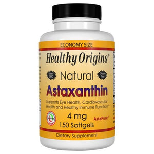 Astaxanthin 150 Soft gels by Healthy Origins (2587377041493)
