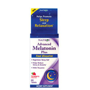 Advanced Melatonin Plus 60 tabs by Natrol (2587378253909)