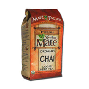 Yerba Mate Organic Chai Loose 12 oz by The Mate Factor (2589171155029)
