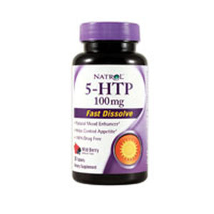 5-HTP Fast Dissolve 30 Tabs by Natrol (2587378778197)
