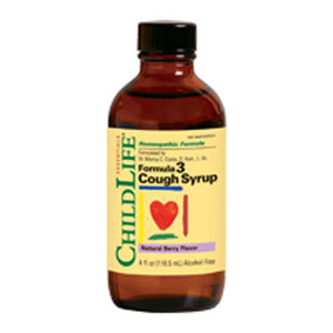 Formula 3 Cough Syrup 4 oz by Child Life Essentials