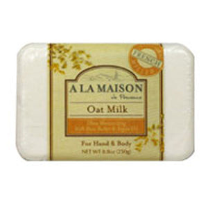 Bar Soap Oat Milk 8.8 oz by A La Maison (2587381006421)