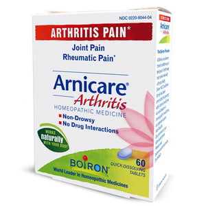 Arnicare Arnica 60 tabs by Boiron (2587381989461)