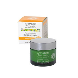 Glycolic Mask Pumpkin Honey 1.7 oz by Andalou Naturals (2587382874197)