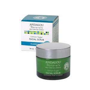 Facial Scrub Lemon Sugar 1.7 oz by Andalou Naturals (2587383005269)