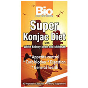 Super Konjac Diet 90 vcaps by Bio Nutrition Inc (2587386150997)