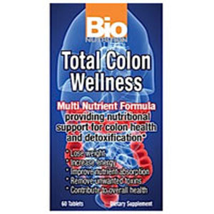Total Colon Wellness 60 tabs by Bio Nutrition Inc