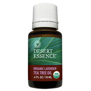 Organic Lavender Tea Tree Oil 0.6 Fl Oz by Desert Essence (2583978803285)