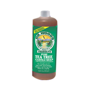 Castile Liquid Soap Tea Tree 32 OZ by Dr.Woods Products