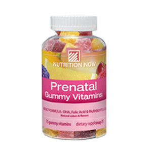 Prenatal Gummies 75 chew by Nutrition Now (2587390115925)