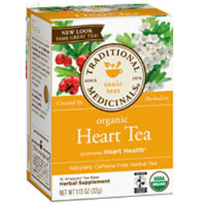 Heart Tea with Hawthorn 16 Bags by Traditional Medicinals Teas (2587945467989)