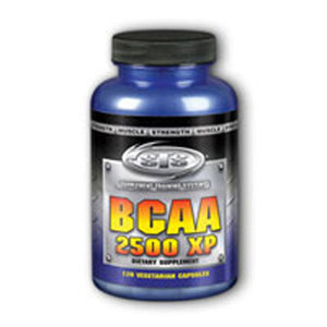 BCAA 2500 XP 120 ct vcaps by Natural Sport