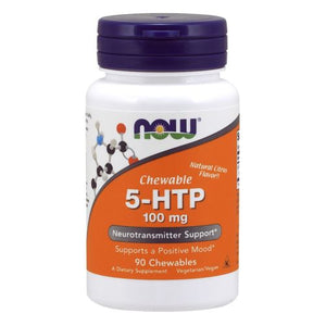 5-HTP 90 Chewables by Now Foods (2587401125973)