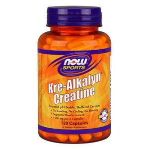 Kre Alkalyn Creatine 120 caps by Now Foods