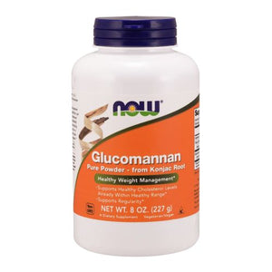 Glucomannan 100% Pure Powder 8 oz by Now Foods (2587402764373)